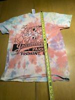 YOGI BEAR JELLYSTONE PARK T SHIRT Tie Dye Fremont Indiana Campground  Kids Large