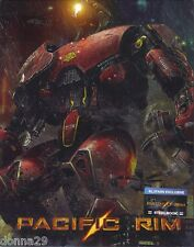 Pacific Rim Blu-Ray BLUFANS Exclusive No.9 Steelbook+Slip New & Sealed-2000 Only