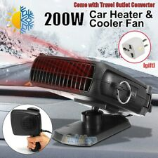 360° Rotated Car Auto Electric Heater Heating Cooling Fan Defroster Demister 12V