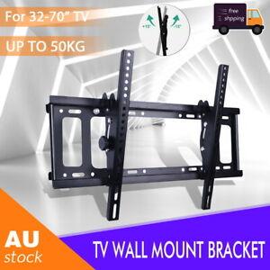"""SLIM TILT TV WALL MOUNT BRACKET LED LCD PLASMA 32 40 42 48 50 52 55 60 65 70"""" AU"""