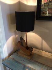 Vintage Woodworkers Plane Lamp. Lighting