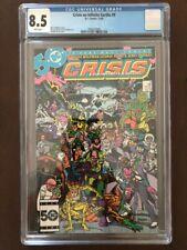 Crisis On Infinite Earths #9, August 1985, DC Comics, CGC Grade 8.5 VF+