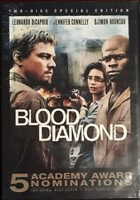 Blood Diamond (DVD, 2006, 2-Disc Set R1)  Leonardo DiCaprio  BRAND NEW & SEALED