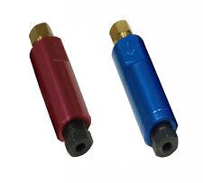 10 lbs blue residual pressure valve & 10  lbs red  residual pressure valve
