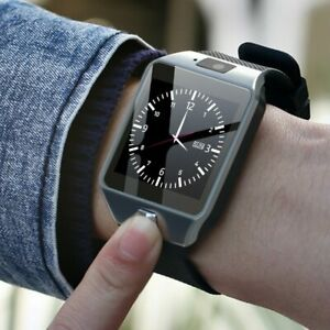 Digital Men Watch Bluetooth SIM TF Card Camera For Android smart Phone