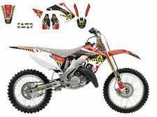 BLACKBIRD HONDA CR 250 2004 KIT GRAFICHE REPLICA ARMA ENERGY GRAPHICS NERO BLACK