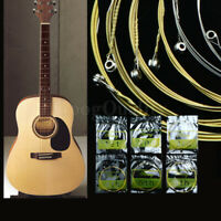 Set of 6 Steel Strings for Acoustic Guitar 150XL 1 M DSW