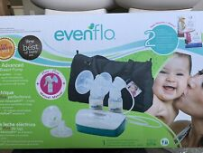 New listing Evenflo Advanced Double Electric Breast Pump - cleaned and sterilized