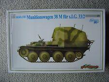 Dragon/Cyberhobby 1/35 SdKfz.138/1 Munitionswagen 38M für sIG.33/2