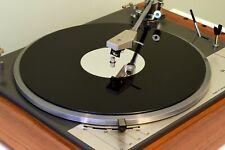 Gloss Black & Mirror Premium Acrylic Turntable Platter Mat. fits LENCO!