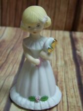 New Listing1981 Enesco Growing Up Birthday Girls Porcelain Age 5 Figurine