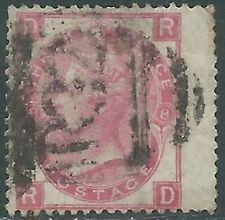 1867-80 GREAT BRITAIN USED SG 103 3d PLATE 8 (RD) - RC58-2