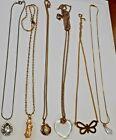 Vintage+Jewelry+Big+Lot+6+Pendant+Necklaces+Rhinestone+Fire+Truck+%2B+More+ESTATE