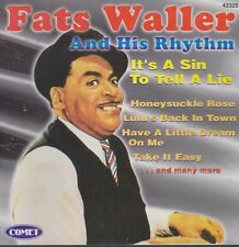 Fats Waller And His Rhythm It`s A Sin To Tell A Lie (Honeysuckle Rose) 1997