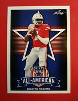 2019 Leaf Dwayne Haskins Ohio State Buckeyes All-American Card #73 *Amazing!!*