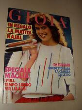 GIOIA RIVISTA 1981/13=FANIA FENELON=LISA HALABY=LEONETTO AMADEI=SEAN CONNERY=