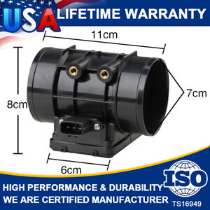 Mass Air Flow Meter Sensor For Mazda 323 Protege 1.3/1.5L Ford Aspire Base 94-98