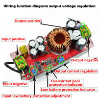 1800W 40A Current DC-DC Constant Voltage Constant Current Boost Power Modul