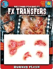 Tinsley Transfers Burned Flesh Prosthetic Special Effects Makeup Horror 3D FX