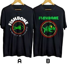 Fishbone Band Funk Metal Alternative Rock Band T-shirt Cotton 100% Size S-4XL
