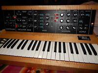 ORIGINAL VINTAGE Moog Minimoog MODEL D 1980 Analog Synthesizer Excellent w/ case