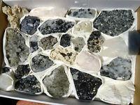 Lot 25 mix crystals,minerals -Madan Bulgaria 46