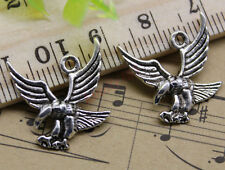 Free Shipping 30pcs Jewelry Making DIY Eagle Alloy Charm Pendant 18x18mm