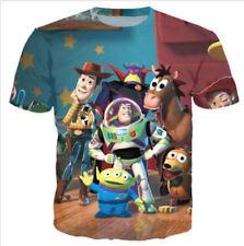 New Women Men Cartoon Toy Story character Buzz Lightyear 3D Print T-Shirt NK52