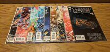 Lot of 9 DC Comics JLA Justice League of America 2015 #1 - #8 2007 #11