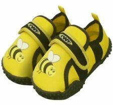 TWF BABY SIZE 3 (EU 21) BEES AQUA SHOES - GREAT FOR THE BEACH NEW WITH TAGS