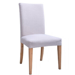 New Stretch Spandex Chair Covers Home Kitchen Hotel Office Wedding Paries Decor