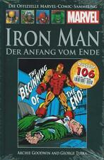 Officiel MARVEL Bande dessinée Recueil 106 (C 17): Iron man fin HACHETTE COLLECTION