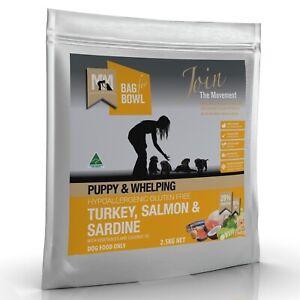 Meals for Mutts Turkey, Salmon & Sardine Puppy Dry Dog Food - 2.5kg