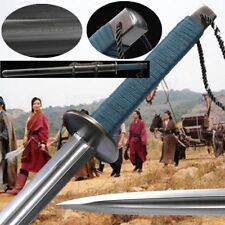 Armed Escort Bodyguards Battle ready Sword pattern steel blade Sharp Edge #114