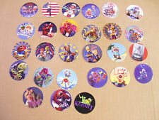 POGS THE MUPPETS by CYCLONE COMPLETE SET  OF ALL 27 AWESOME KERMIT, MISS PIGGY