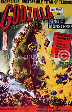 Godzilla King Of The Monsters Vintage Movie Poster 18x24