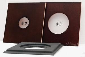 "1 Lens Board 5.2"" x 5.2"" for Burke&James 5 x 7"" - For Copal # 0, or # 3 Shutter"