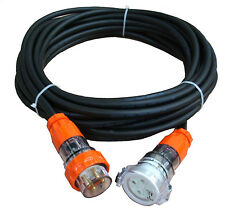 32 Amp 30m Heavy Duty Extension Cord: 3 Phase,4 pin,415V. Cable CSA:6mm².