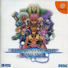 Phantasy Star ONLINE Ver.1 Dreamcast DC Japan