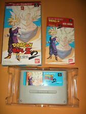 DRAGON BALL Z CHO BUTODEN 2 With Box Nintendo Super Famicom SFC SNES 342