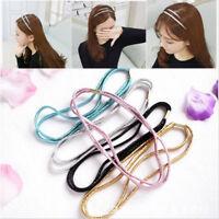 5 Colors Fashion Elastic Headband Head Piece Hair Band Jewelry Chic