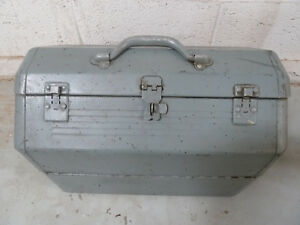 Vintage Hip Roof Top Cantilever Heavy Duty Tool Box