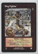 1995 Shadowfist Collectible Card Game Standard Base Set #NoN Ring Fighter 2ts