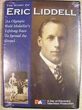 The Story of Eric Liddell - Olympic Gold Medalist Spreading Gospel - DVD NEW
