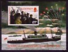 Alderney 1995 blok 1  Return of the Islanders 2e Wereldoorlog WII    postris/mnh