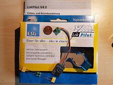 ESU 64631 LokPilot V4 Digital-Set mfx,MM,DCC,SX +Magnet +2 Drosseln NEU (54631)