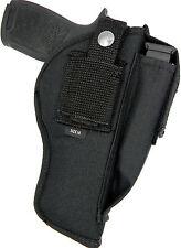 """USA Made Ambidextrous OWB Belt Holster w/ Mag Pouch - FN FNX-45, 4.5"""" Barrel"""