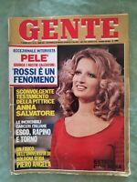 GENTE N 24 6/1978 ITALIAN MAGAZINE PELE MINA PAOLO ROSSI AMMAN HUSSEIN   #9