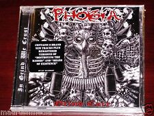 Phobie: Grind Core / Destroying the Masses / Means de Existence CD 2014 WT NEUF