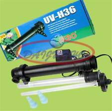 UV 36 Ultraviolet Sterilizer Aquarium Filter 36W Bulb Green Algae Clarifier